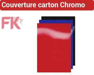 Couverture carton brillantes Chromo 250g & Linen CC FALCONK N° 14- Couverture Carton chromo & Linen A4